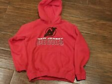 Gear for Sports New Jersey Devils Red Hoodie Sweatshirt Youth Large