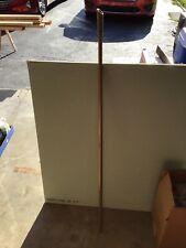 "Fuller Brush Durable Telescopic 2 Piece Threaded Steel Handle 29-48"" - Brown"