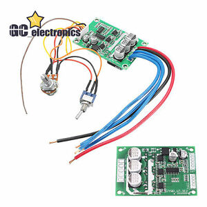 DC12V-36V 500W High Power Brushless Motor PWM Controller Driver Board A3US