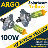 H7 100w 8500k Xenon Hid Super Yellow Effect Look Headlight Lamps Light Bulbs 12v
