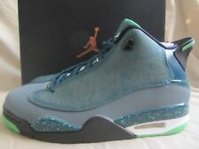 Nike Air Jordan Dub Zero Teal Green Black Graphite Mens 9 New With Box MSRP 160