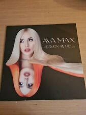 Ava Max - Heaven and Hell Orange vinyl  Some slight cover creases  New