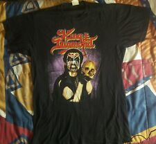 T-SHIRT XL KING DIAMOND OFFICIAL VINTAGE