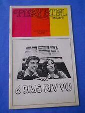 February 1973 - Lunt-Fontanne Theatre Playbill - 6 RMS RIV VU - Jerry Orbach
