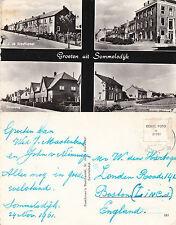 1961 MULTI VIEWS OF SOMMELSDIJK NETHERLANDS POSTCARD
