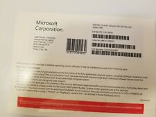 Microsoft Windows 10 Professional 64 Bit Pro Coa Key with CD