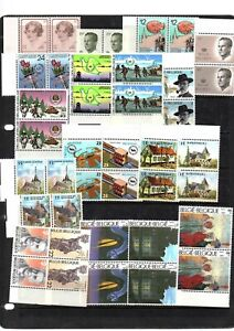 BELGIUM, LOT OF MNH STAMPS, (5)