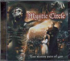MYSTIC CIRCLE-THE BLOODY PATH OF GOD + 1 BNS TCK-CD-behemoth-dimmu-black-death