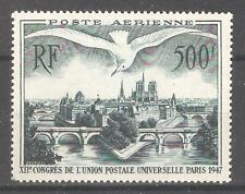 France 1947,Air Mail,UPU Congress,Scott # C22 VF MVLH OG