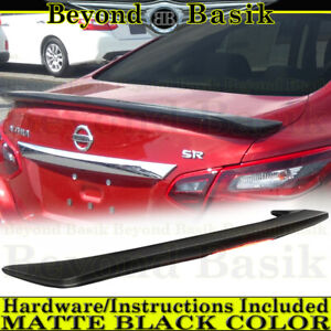For 2016 2017 2018 NISSAN ALTIMA Spoiler Factory Style Wing w/LED MATTE BLACK