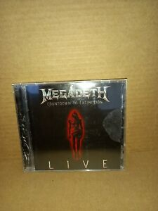 MEGADETH - COUNTDOWN TO EXTINCTION CD EX
