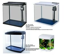 15L/ 20L/ 30L /35L /50L Aquarium Fish Tank Nano Tropical Coldwater LED Lighting