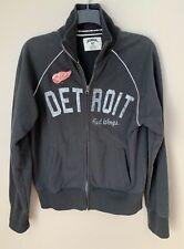 Detroit Red Wings Banner '47 Brand Black Zip-Up Sweatshirt NEW Size: M