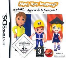 Mente su idioma aprender francés / Francais Nintendo Ds-Nuevo Y Sellado