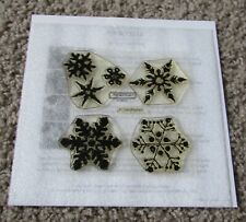 New Close to My Heart B1106 Flurries Stamp Set CTMH