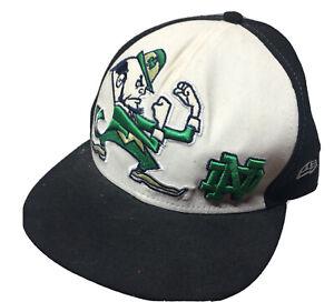 59Fifty New Era Baseball Cap Notre Dame 73/8 58.7cm Bl&Green The Fighting Irish