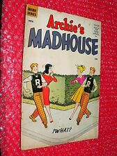 Archie's Madhouse  #2 comic 1959  paper doll pages  Betty/Veronica cover