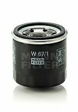 Oil Filter fits MITSUBISHI Mann 30A4000201 MD348631 Genuine Quality Replacement