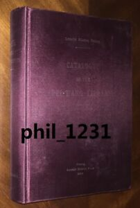 Rare facsimile Catalogue Pei-T'ang Library Lazarist Mission China Peking 2009