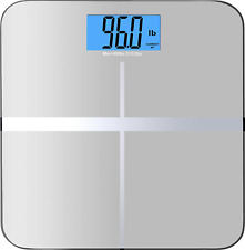High Accuracy Digital Bathroom Scale 400 lb. Or 180 kg Backlight Display Perfect
