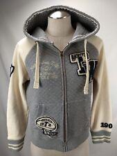 Teenie Weenie Rugby Bear Hoodie Sweatshirt Womens Size FL Small Zip Katherine