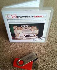 TEATRO organo Giocatore completo del software USB Tyros 4 registrazioni e nuovi stili