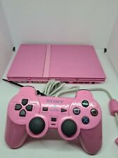 Playstation 2 Konsole Pink Slim with Original Controller nice Condition