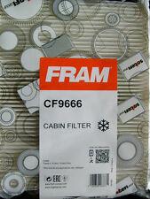 FORD FIESTA MK V 2001-on tutti i modelli: Genuine FRAM CF9666 Filtro Antipolline/Cabina, NUOVO