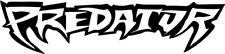 Predator beaucoup de couleurs Autocollant Sticker Shocker Tuning Décalque Decut JDM