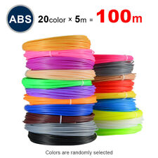 ABS Filament PLA Perfect 3D Pen Special 1.75mm 3D Printer 20 Colors No Pollution