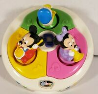 Vintage Disney Babies Musical Roly Poly Light Up Toy Mickey Minnie Donald 1980
