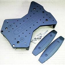 Pletscher Kunststoff 3 Punkt Adapterplatte für Pletscher System Gepäckträger
