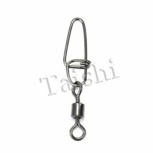 100pcs NEW Barrel Swivel Rings Fastlock Fishing Pin Snaps Connector Acces
