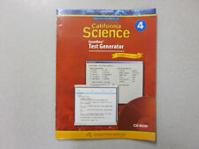 Houghton Mifflin CAlifornia Science Grade 4 ExamView Test Genrator CD 0618757295