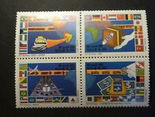 Brazil 1989, S.G. #2345A, block of four with error, mint never hinged