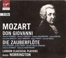 Mozart – Don Giovanni & Die Zauberflöte [5 CD Set]