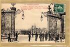 Cpa Nancy - un coin de la Place Stanislas - Grilles de Jean Lamour tp0105