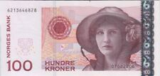 Norway banknote P49c 100 Kroner 2006, UNC We Combine