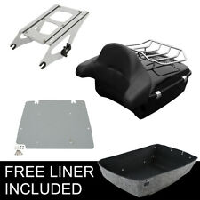 King Tour Pak Pack Trunk Fit For Harley Davidson Touring Street Road Glide 14-19