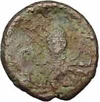 Sicily SYRACUSE Onkia Nymph Arethusa & Octopus Rare  Ancient Greek Coin  i46014