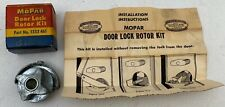 NOS 1939-48 PLYMOUTH DODGE DESOTO CHRYSLER DOOR LOCK ROTOR KIT 1333461 MOPAR