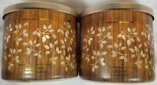 Bath Body Works Candle LEAVES Scented 3-wick Jars x2 Wax Autumn Fall