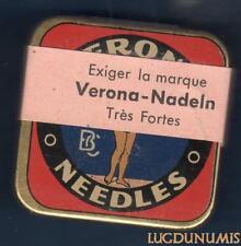 Boite Aiguilles Gramophone - VERONA NEEDLES NEUVE - Pleine 150 - 200 Aiguilles