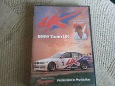 bmw team uk world touring car champion andy priaulx dvd new freepost