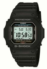 Casio G-Shock G-5600E-1 Classic Solar Power Watch - Black