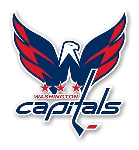 Washington Capitals Decal / Sticker Die cut