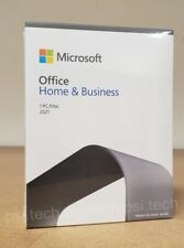 Microsoft Office 2021 Home and Business  Retail Box T5D-03518 New Release