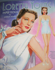 Loretta Young Paper Doll Book-Authorized Edition w/3 Dolls & 22 Movie Costumes