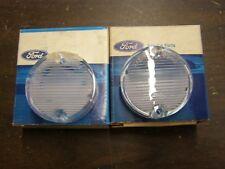 NOS OEM Ford 1969 1970 Mustang Backup Light Lamp Lenses Pair Boss 302 429 Mach 1