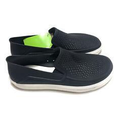 Crocs Citilane Roka Slip On 202363-066 Black White Standard Fit Men's Size 13